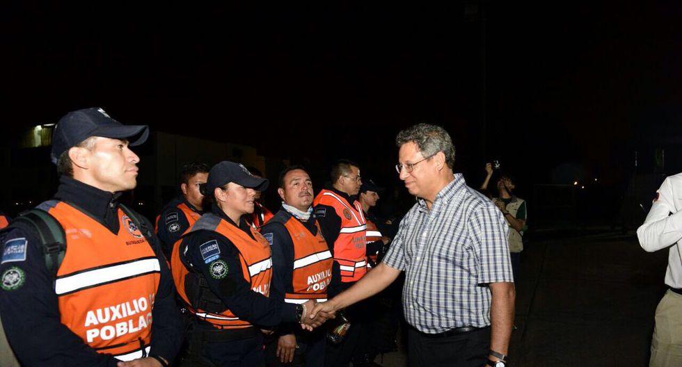 El equipo de México se sumará a las labores de apoyo. (Cancillería de Perú)