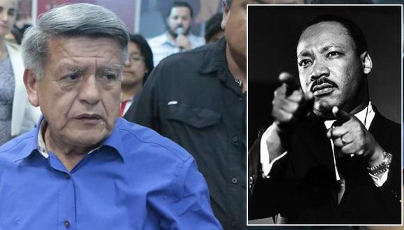 Lundu exige a César Acuña disculpas públicas por usar imagen de Martin Luther King en spot. (Roberto Cáceres/playbuzz.com)