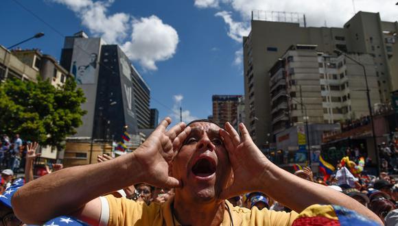 Venezuela vive en la incertidumbre sobre si contarán con energía eléctrica. (Foto: AFP)