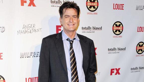Sheen dijo que vio el espíritu de su amigo Zalman King, quien llevaba muerto cuatro horas. (Reuters)