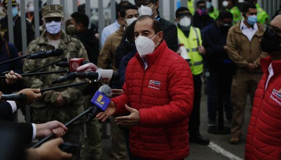 El Ministerio de Defensa informó que los vuelos serán reprogramados en un horario más flexible para evitar aglomeraciones en los exteriores del aerouerto Jorge Chávez. (Foto: Jesús Saucedo/GEC)