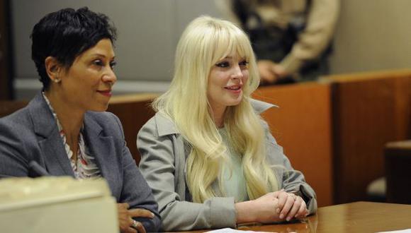 La polémica actriz fue ayer otra vez a la Corte. (Reuters)