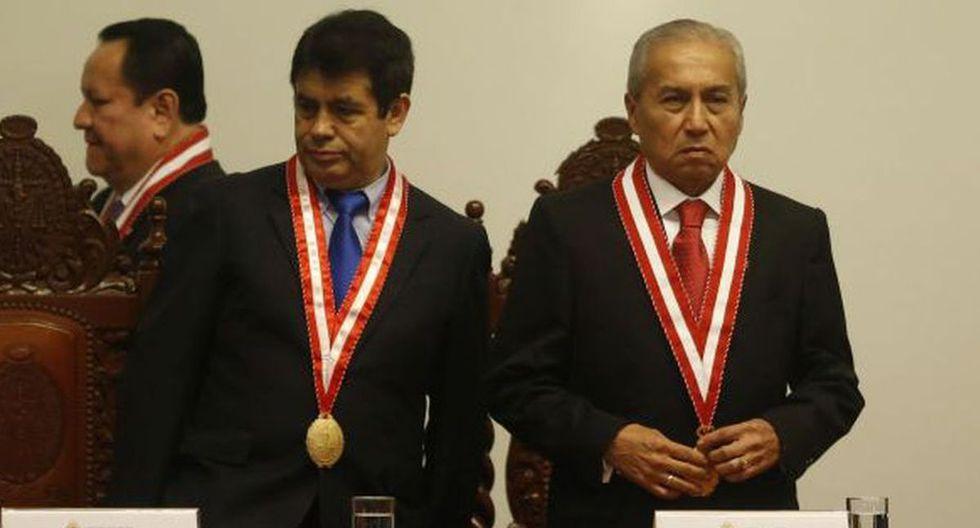 Tomás Gálvez y Pedro Chávarry son investigados por presuntamente pertenecer a Los Cuellos Blancos del Puerto. (Mario Zapata/ GEC)