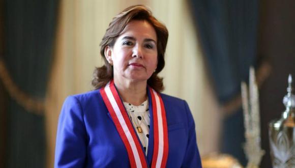 Elvia Barrios indicó que se deben identificar a los malos elementos dentro del Poder Judicial. (Foto: Nancy Chappell)