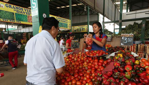 Los mercados cuentan con suficiente stock para atender la demanda de alimentos, según el Minagri.