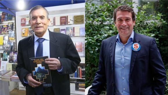 Los excandidatos presidenciales Ciro Gálvez y Rafael Santos expresaron sus posiciones de cara a la segunda vuelta electoral. (Foto: Composición GEC)