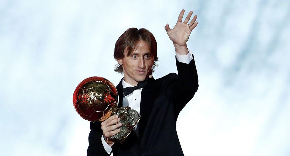 Luka Modric ganó el Balón de Oro 2018 y terminó con la hegemonía de Cristiano Ronaldo y Lionel Messi. (Foto: Reuters)
