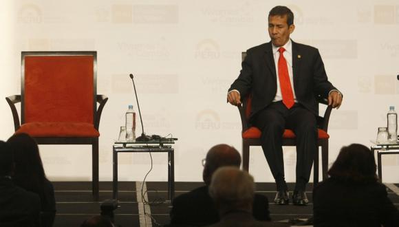Ollanta Humala movió el avispero político y apoyó la norma cuestionada por los apristas y los fujimoristas. (Mario Zapata)