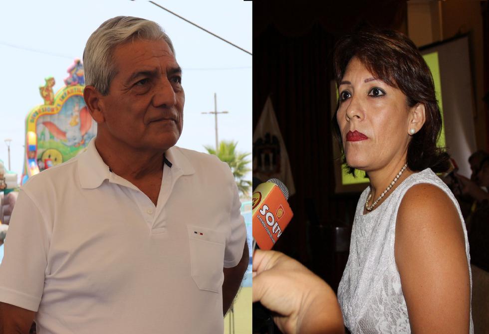 Elidio Espinoza y Rocío Taboada se enfrentaron.