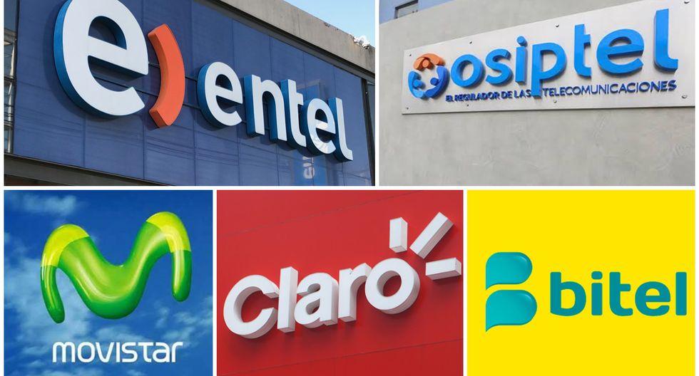 Osiptel sancionó a las cuatro operadoras. (Foto: GEC)