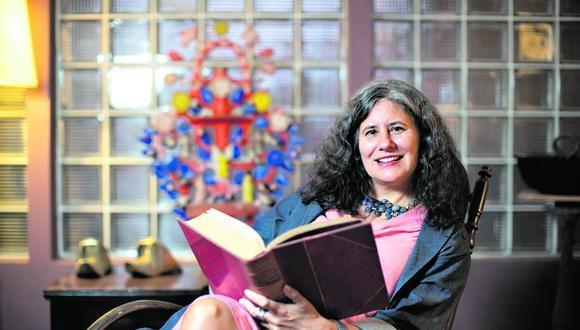Natalia Sobrevilla Perea es autora del libro Independencia.