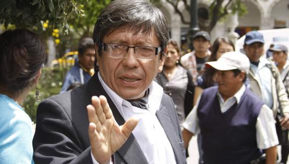 Ciro Castillo Rojo Salas señaló que es un error que se archive el caso. (Heiner Aparicio)