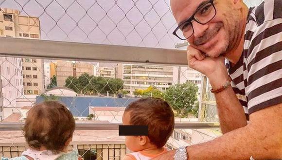 Ricardo Morán pasó su día al lado de sus hijos que tuvo en el 2019. (Foto: Instagram @ricardomoranvargas).