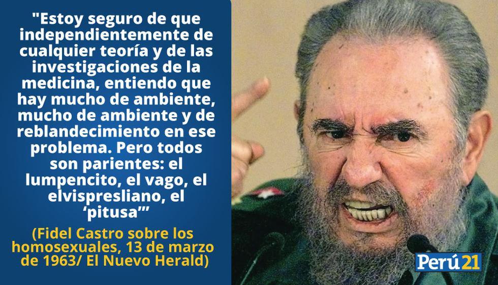 Frases de Fidel Castro sobre Cuba, la revolución, la democracia y más.