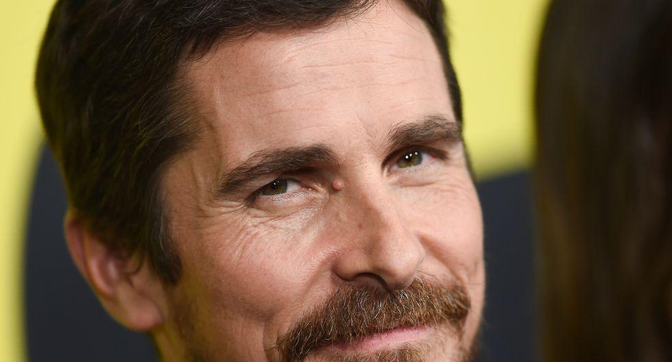 """Christian Bale participó en la comedia """"Vice"""" y agradeció a Satán a la hora de ser llamado a recibir su estatuilla. (Foto: AFP)"""
