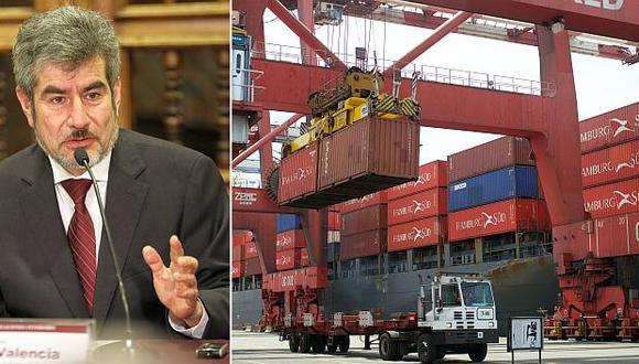 Las exportaciones peruanas a la Alianza del Pacífico han crecido 10% este año, sostuvo el ministro Valencia. (Fotos: USI/El Comercio)