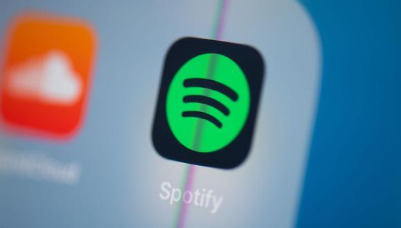 """""""Siempre estamos trabajando para mejorar la experiencia de Spotify y rutinariamente realizamos pruebas para informar nuestras decisiones"""", ha dicho un portavoz de la compañia. (Foto: Martin Bureau / AFP)"""