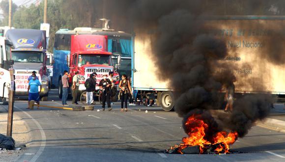 Congreso solicita explicaciones a miembros del Ejecutivo sobre paro de transportistas. (Foto: GEC)