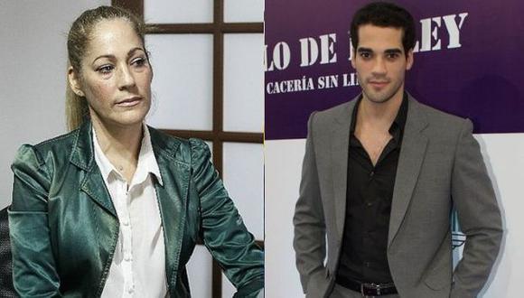 Edith Tapia se quiebra al tratar de defender a su hijo Guty Carrera de las acusaciones de Alejandra Baigorria. (USI)