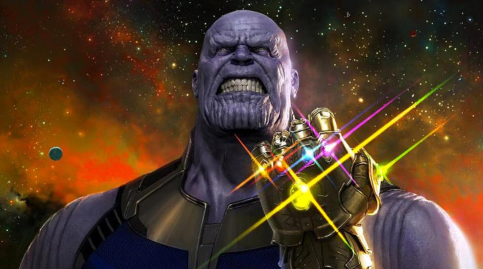 El villano 'Thanos' es el gran rival a vencer en esta cinta. (Marvel)