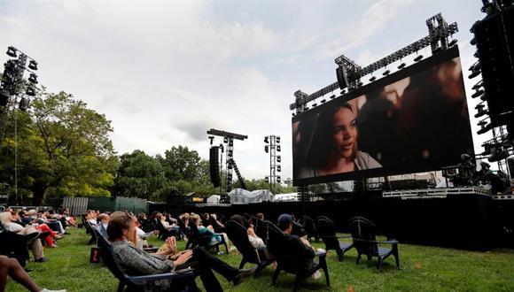 """El Festival de Tribeca dio comienzo este miércoles a 12 días de proyecciones y eventos con la premiere mundial de la esperada película """"In The Heights"""". (Foto: EFE)"""