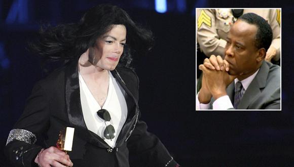 Michael Jackson con su médico, Conrad Murray. (USI)
