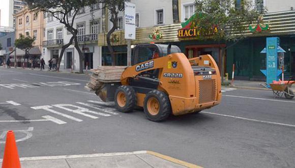 Mantenimiento corresponde al plan \'Calles sin Stress\' lanzado por el municipio miraflorino. (Difusión)