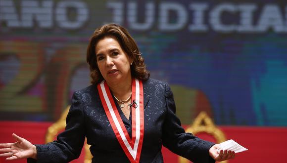 Según 'Panorama', la investigación de la Fiscalía de la Nación a Elvia Barrios Alvarado es por el presunto delito de tráfico de influencias. (Fotos: Alessandro Currarino / GEC)