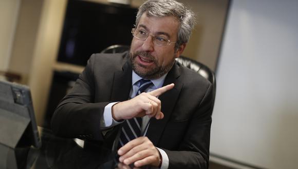 Piero Corvetto espera que se duplique la participación de peruanos en el exterior en esta segunda vuelta. (Foto: Archivo GEC)