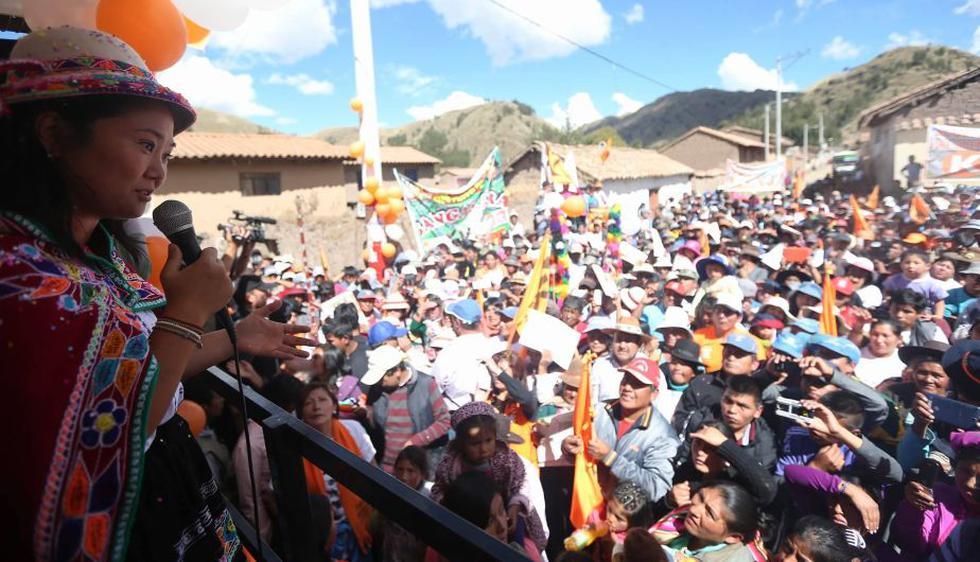Keiko Fujimori aseguró que tiene un plan integral para la zona del VRAEM. (Luis Centurión/Perú21)