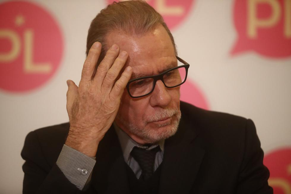 """Ricardo Belmont sobre su baja en las encuestas: """"No voy a llenarte de promesas"""" (César Campós/Perú21)"""