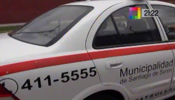 Vehículo estaba cerca de la casa de López Meneses. (Captura de video de Willax)