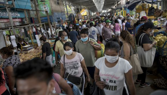 El FMI destacó que contener contagios es el mayor reto del Perú.  Fotos: Anthony Niño de Guzman \ GEC