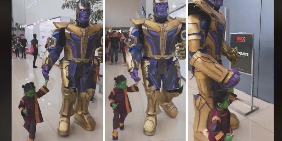 Este es el cosplay más hermoso que un padre le hizo a su hija para que siempre la recuerde. (Foto: Facebook)