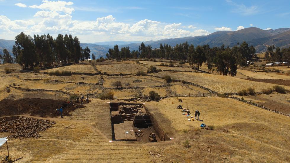 Importante hallazgo en Vilcashuamán. (Proyecto de Investigaciones Arqueológicas Campanayuq Rumi)