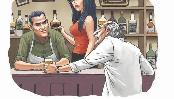 Una novela por entregas. Ilustrado por Mechaín.