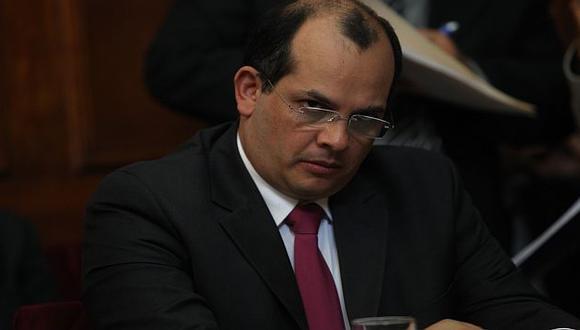 Luis Castilla no ocultó su malestar por el reporte del banco estadounidense. (USI)
