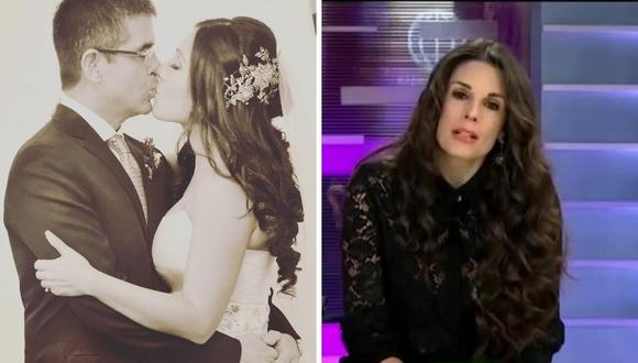 Rebeca Escribens le recomendó Tula Rodríguez seguir su duelo y permitirse llorar por todo lo que ha pasado. (Fotos: Captura de pantalla de América TV / Instagram: @tulaperu).