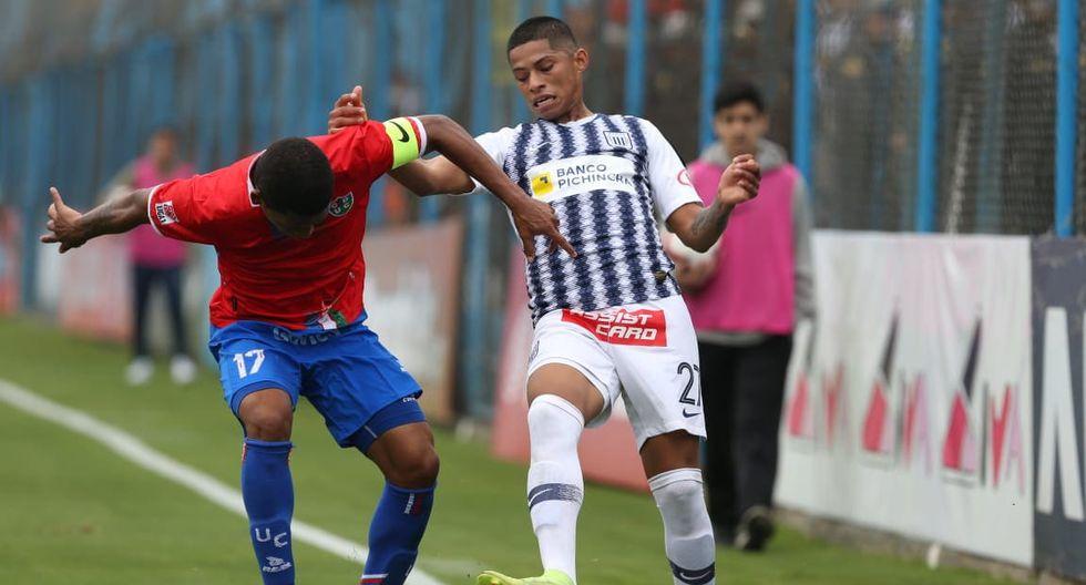 Alianza Lima igualó 1-1 ante Unión Comercio en el regreso de Pablo Bengoechea. (Foto: Violeta Ayasta)