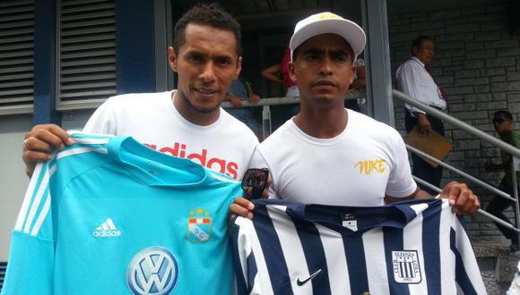 Carlos Lobatón y Luis Trujillo se preparan para chocar este domingo. (Carlos Lara)