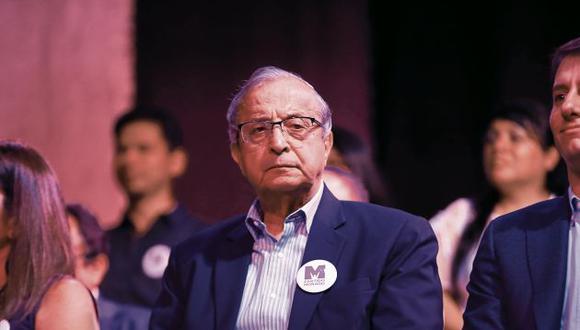 Daniel Mora renunció a su candidatura al Congreso y el JEE lo está evaluando. (GEC)