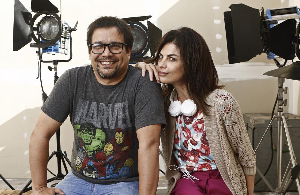 Fiorella Rodríguez y Sandro Ventura. (USI)