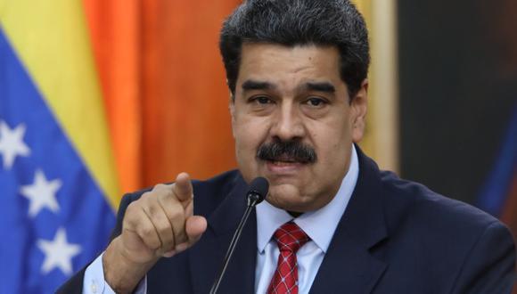 """Maduro asegura que impedirá el """"show"""" de la ayuda humanitaria.(Foto: EFE)"""