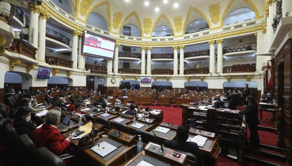 La comisión está conformada por 17 congresistas de diferentes bancadas.  (Foto: Congreso)