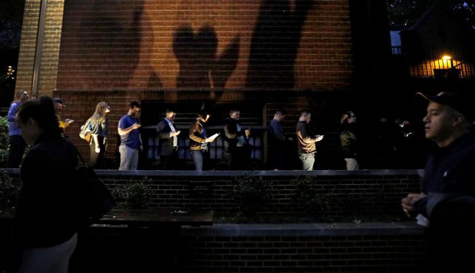 Reportaron largas filas y fallas en máquinas en comicios de Estados Unidos | Foto: AP