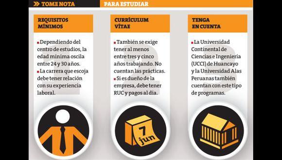 Que la edad y el complicado horario de trabajo no sean una barrera. (Perú21)
