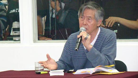 Alberto Fujimori pidió resultados de Informe Kroll. (USI)