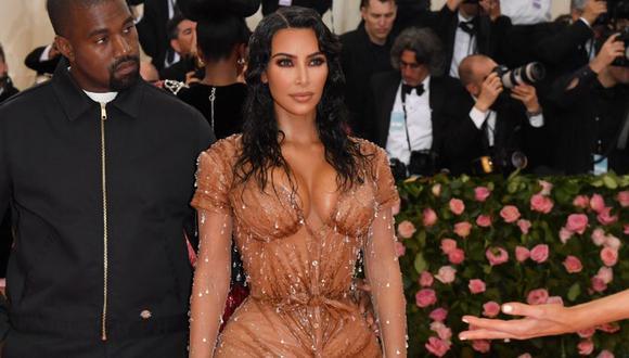 Kim Kardashian es una de las celebrities que sigue esta dieta extrema. (Foto: AFP)