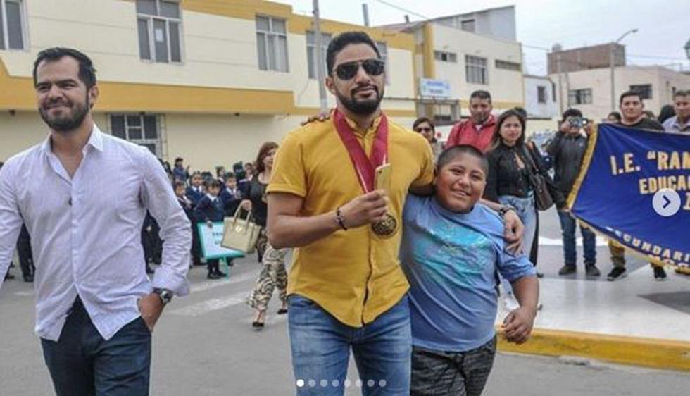 Jacob Murabak, empresario que ayudó a niño trujillano, emocionado con partido de Perú vs. Venezuela. (Instagram)