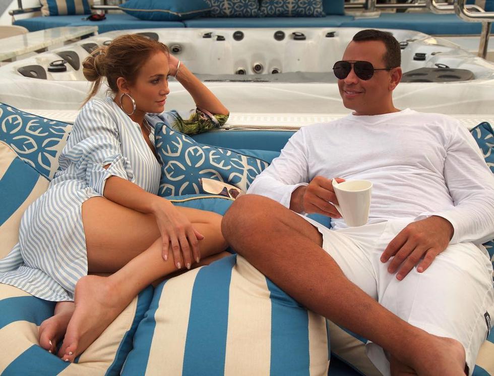 Jennifer Lopez y Álex Rodríguez responden así a rumores de una supuesta separación. (Foto: Instagram)